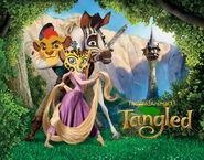 Tangled (TheWildAnimal13 Animal Style) Poster