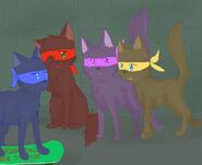 Teenage Mutant Ninja Wolves