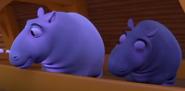 VeggieTales Hippos