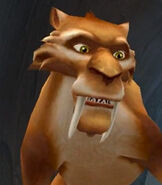 Diego in Ice Age - The Meltdown (Video Game)