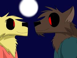 Lynn Loud, Sr. and Rita Loud as Werewolves.jpg