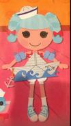 Marina Anchors Dressed Up as a Sailboat