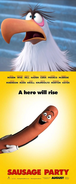 Mighty Eagle Hates Sausage Party