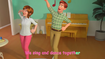 Miss Johnson and Mr. Johnson dancing in My Mommy Song