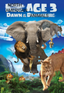 North American Age 3- Dawn of the North American Animals- Poster
