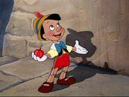 Pinocchio ready for school