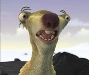 Sid the Sloth Shocked