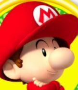 Baby Mario in Mario Tennis Open