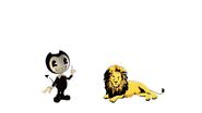 Bendy Meets Lion