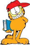 Garfield back to school
