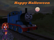 Happy halloween from thomas and clawdeen by originalthomasfan89-d5j1hzy