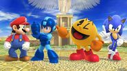 Mario, Sonic, Mega Man and Pac-Man