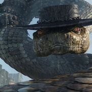 Rattlesnake Jake Angry