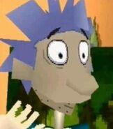 Stu Pickles in Rugrats Studio Tour