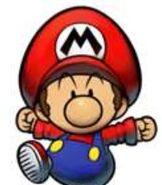 Baby Mario in Mario & Luigi- Partners in Time