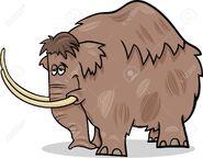 Cartoon Mastodon