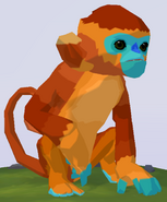 Golden Snub-Nosed Monkey WOZ