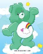 Bashful Heart Bear as Bashful