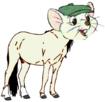 Bernard as a Horse
