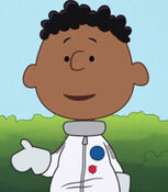 Franklin in Snoopy in Space