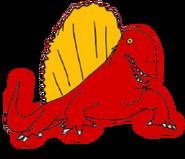 Larva the Dimetrodon