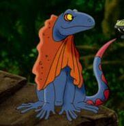 Lizard, Frilled (Kangaroo Jack)