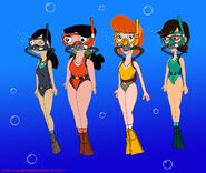 Phineas and ferb moms scuba diving by voyagerhawk87 d8srs2b-fullview