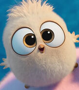 Samantha in The Angry Birds Movie 2