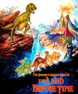 The Spacebots' Adventures of The Land Before Time