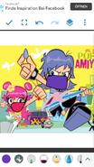 Ami and Yumi (face masked)