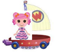 Berry Jars N Jam Riding the Wonder Pets Flyboat