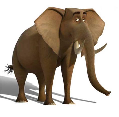 Elephant (Madagascar 2: Escape 2 Africa)