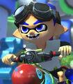 Inkling Boy in Mario Kart 8