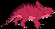 Seth Spacebot protoceratops form dinosaur in thespacebotsadventuresseries