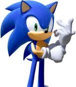 Sonic the Hedgehog in Team Sonic Racing