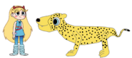 Star meets South African Cheetah
