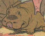 The Black Sorcerer Hippopotamus