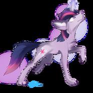 Wolf Twilight Sparkle by Affanita