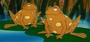 Amphibians care bears