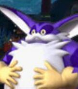 Big the Cat in Sonic Colors
