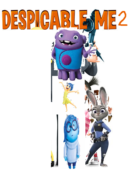 Despicable Boov 2 (TheLastDisneyToon and Toonmbia Style)