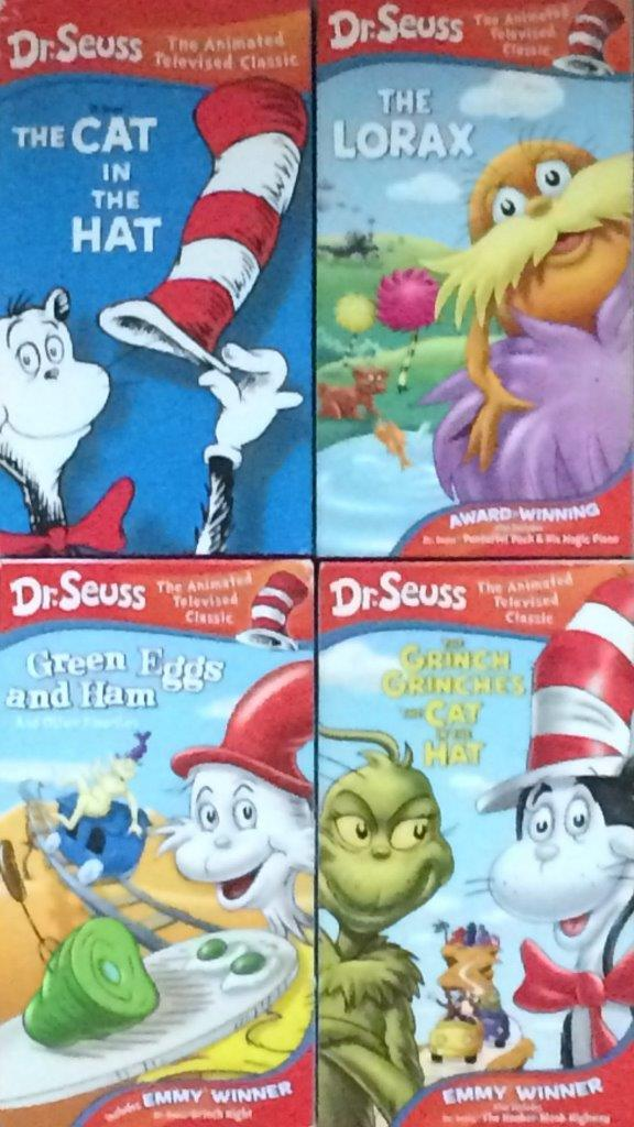 Dr. Seuss' The Animated Televised Classics 2003 VHS