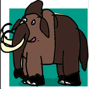 Nelson as Woolly Mammoth
