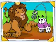 Putt-Putt and King Leo