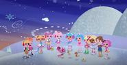 The Lalaloopsies Caroling