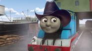 Thomas wearing cowboy hat CGI Series