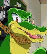Vector the Crocodile in Sonic X