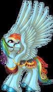Carousel Rainbow Dash by KittehKatBar