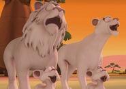 Garfield White Lion