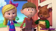 Goldie Locks, Beanstalk Jack and Jack Bear